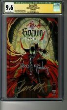 Spawn # 300 - Cover G (Campbell) - CGC 9.6 WHITE Pages - SS5X Todd McFarlane