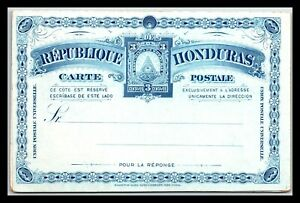 GP GOLDPATH: HONDURAS POSTAL CARD MINT _CV712_P21
