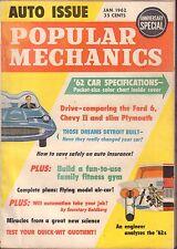 Popular Mechanics  January 1963 Ford 6, Chevy 2, Slim Plymouth VG 060616DBE