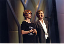 Julie Andrews Carol Burnett Candid Photograph 3.5 x 5 Photo Tony Awards 1999