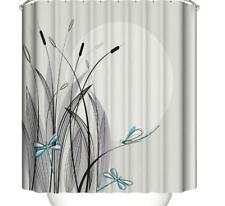 Shower Curtain Hooks Bathroom Bathtub Shower Cover Liner Art Painting Home Decor