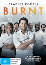 BURNT - BRADLEY COOPER SIENNA MILLER GENUINE REGION 4 DVD NEW & SEALED CHEF