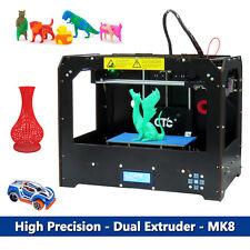 2019 DHL CTC FDM 3D Drucker Bizer Dual Extruder MK8 MakerBot Replicator PLA /ABS