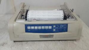 Okidata OKI Microline 490 D22220A 24-Pin Dot Matrix Printer