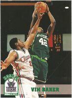 Vin Baker Rookie RC Hoops 1993/94 NBA Basketball Card #363