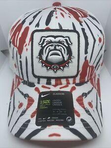 Nike Georgia Snapback Trucker Hat Adjustable Tie Dye Georgia Bulldogs NWT SEC