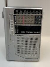 Grundig Mini World 100 Pe Pocket Short Wave World Radio With Case