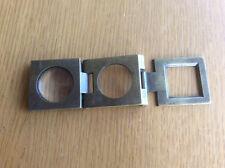 Vintage Folding Brass Magnifying Glass Loupe, Jeweller Watchmaker Printer 1930s?
