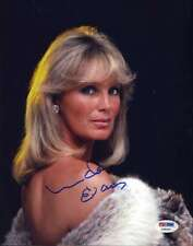 LINDA EVANS DYNASTY SIGNED PSA/DNA CERTIFIED 8X10 PHOTO AUTHENTICATED AUTOGRAPH