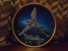 Star Wars  Hamilton Collection Imperial Shuttle Plate not statue bust