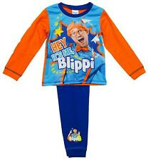 Boys Pyjamas New Pjs Hey It's Me Blippi Character Pajamas 18 Months to 5 Years