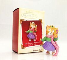 Hallmark Ornament 2005 My Third Christmas - Girls Childs Age Collection #QXG4575