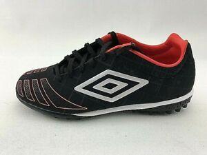 UMBRO UX ACCURO PREMIER TF Women's Soccer Shoes Size 7 Black Vintage