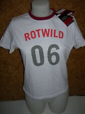 TEE SHIRT femme ROTWILD RCO glamour, blanc en 34/36
