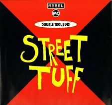 """REBEL MC AND DOUBLE TROUBLE street tuff WANT X 18 uk desire 1989 12"""" PS EX/EX"""