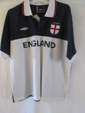 Inglaterra formación ocio Polo Camiseta De Fútbol Adultos Pequeños