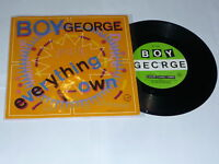 """BOY GEORGE - Everything I Own - Scarce 1987 7"""" Vinyl Single  With Picture Sleeve"""