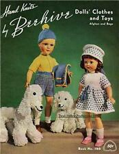 1951 Beehive Book # 146 Dolls' Clothes & Toys  on CD