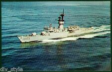 USS Roark de-1053 Destroyer Escort Tarjeta Postal NOS MARINA Enviar