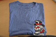 ED HARDY Blue Crewneck Skull SIZE LARGE