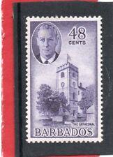 Barbados GV1 1950 48c violet, sg 279 HH.Mint