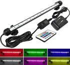 RGB LED Light for Aquarium Fish Tank,Water-Safe Tube with Remote Control