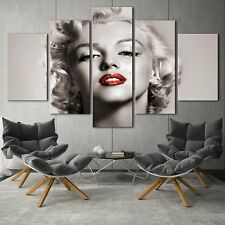Marilyn Monroe 5PCS HD Canvas Print Home Decor room Picture Wall Art Painting
