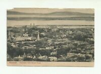 PANORAMA FROM MOUNT ROYAL, MONTREAL. QUEBEC, CANADA VINTAGE POSTCARD