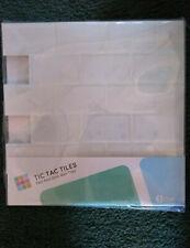 "Tic Tac Tiles 12""x 12"" Peel and Stick Self Adhesive (10 sheets)"