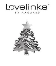Genuine Lovelinks 925 argento Sterling Charm Bead ALBERO DI NATALE