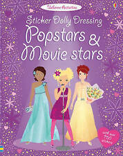 Sticker Dolly Dressing Popstars and Movie Stars by Lucy Bowman, Fiona Watt (Pape