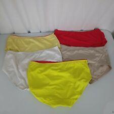 Fruit of the Loom Womens Ladies Size 7 Panties Set Lot 5 Pair Lightweight Mesh
