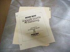 452 Genuine Bush Hog Parts Manual Hm5 Hm7 Hm8 Hay Mower