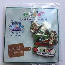 Epcot International Food & Wine Festival 2009 - Chip and Dale Disney Pin 73170