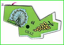 Magnet Le Gaulois Ville du monde Autriche GRAZ 61 Grande Roue