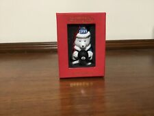 "New ListingLovely Dayton Hudson 1999 Fifteen Years ""Santa Bear"" Ornament Wizard 8 Ball Nib"