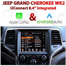 Jeep Grand Cherokee Wk2 UConnect 8.4 Apple CarPlay Android Auto Integration