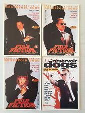 Lot  4  Cartes Postales   PULP FICTION   RESERVOIR DOGS  Tarantino    Postcards