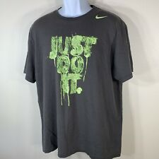 Nike Regular Fit Men's Tee XL Just Do It Graphic