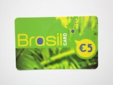 BRASIL BRAZIL COLLECTABLE PREPAID PAYPHONE CALL CARD b