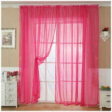Multi-Estilos Sheer Voile Puerta cortina de la ventana Panel Surtido Drape