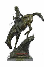 MOUNTAIN MAN Bronze Sculpture by Frederic Remington 21