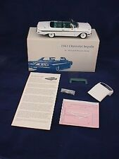 West Coast Precision Diecast 1961 Chevy Impala Convertible Pure White 12/20 WCPD