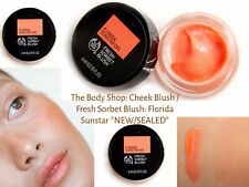 The Body Shop: Cheek Blush / Fresh Sorbet Blush: Florida Sunstar *NEW/SEALED*