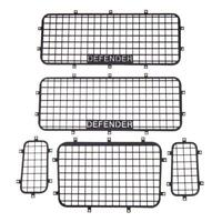 5 Stücke Metall Fenster Mesh Schutz Netz mit Schrauben für 1/10 Rc Crawler N4M
