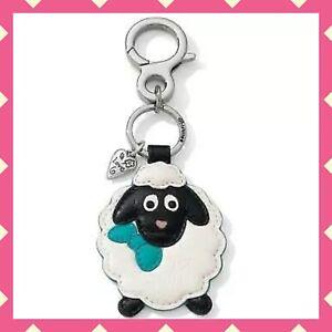 NEW Brighton SHIRLEY Sheep Leather Keyring Key Fob Purse Fob NWT $50