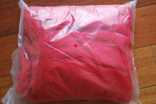 Pack of 12 - Youth one size practice Pinnies red lacrosse field hockey soccer