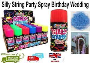 Silly String Party Spray Birthday Wedding Celebration Spray 200ml Can