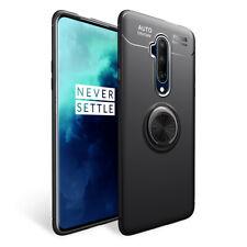 NALIA Ring Handyhülle für OnePlus 7T Pro Hülle, Silikon Hülle mit Finger-Halter