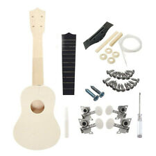 Stringed Instruments Ukulele Generous 21 Inches Unfinished Diy Ukulele Ukelele Uke Kit Basswood Body & Neck Rosewood Fingerboard & Bridge Nylon String